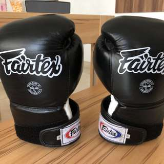 Fairtex Gloves BGV9 Size 10 Black