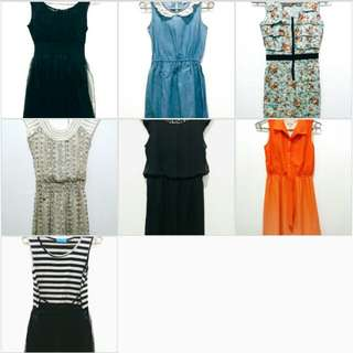 ALL 7 DRESSES FOR 1700