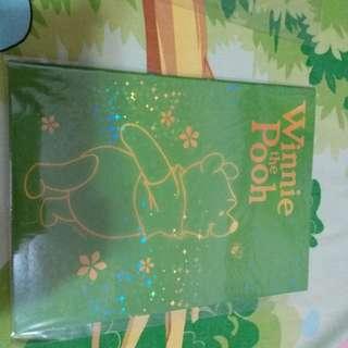 Winnie the pooh單行簿