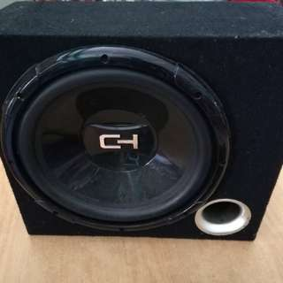 Cheap selling car audio subwoofer & amplifier