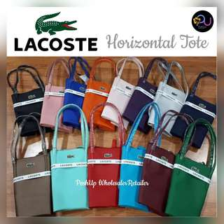 Lacoste Horizontal Tote - Bags