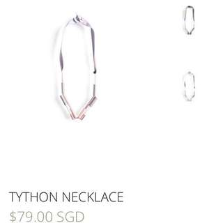 IGC tython rose gold necklace