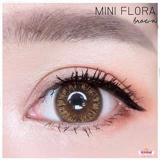 Mini Flora Brown - Thailand Contact Lens