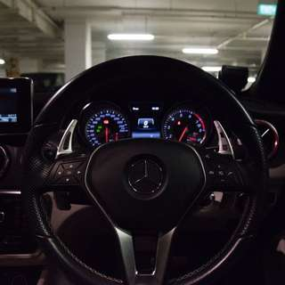Mercedes Paddle Shift Extensions