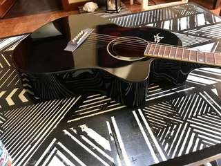 Black Yeong A2 Guitar