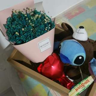 Stitch bouquet set