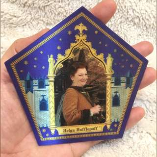 Collectable RARE Chocolate Frog Wizard Card: Helga Hufflepuff