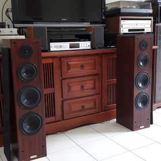 Axis floorstanding speakers