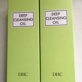 DHC deep cleanin oil 200ml x 2