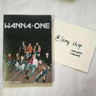 WANNA ONE NOTEBOOK (Unofficial Item)