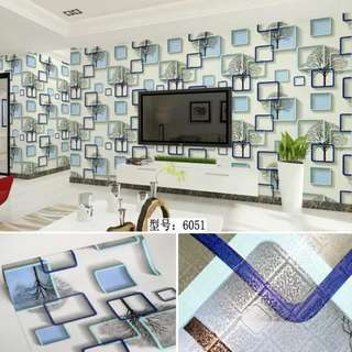 Self-Adhesive PVC Wallpaper Decoration