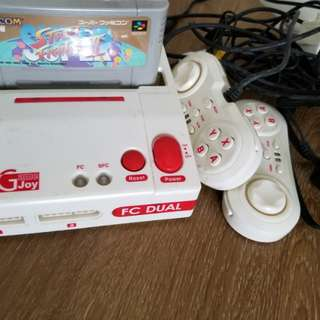 Nintendo's console 紅白機 超級任天堂 二用