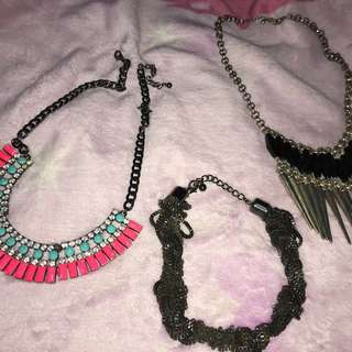 Forever 21 Necklaces 3 items