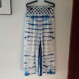Celana batik shibori big size