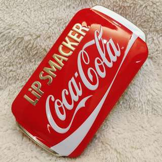 Coca-Cola LipSmacker Empty Tin Container