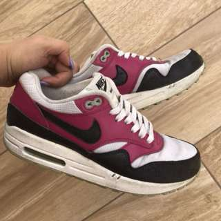 Nike Air Max - Burgundy Black White
