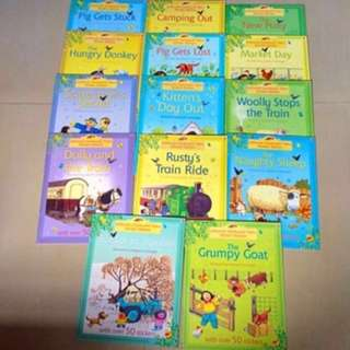 Reserved - Usborne Farmyard Tales Sticker Stories Children books