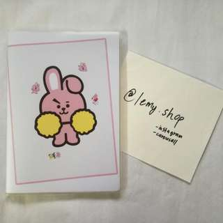 BT21 COOKY NOTEBOOK (Unofficial Item)