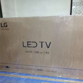 LG 43inc LJ50 Basic Led Bnew fctory sealed