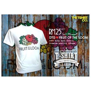 FRUIT OF THE LOOM - DTG