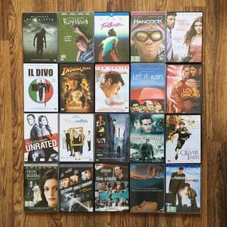 Assorted DVDs for sale