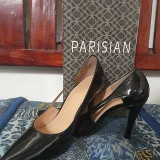 Parisian Black 4 inches High Heels