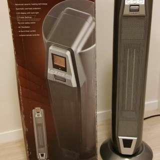 Innotec LCD ceramic tower heater