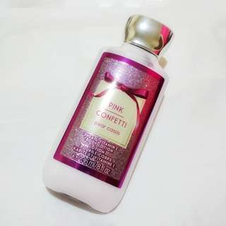 PINK CONFETTI BODY LOTION