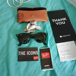 REAL ray Ban sunglasses BRAND NEW NEVER WORN