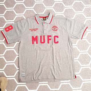 Manchester United Official Merchandise Polo Tee MUFC