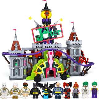 Available Now! not pre order scams ! Lepin 07090 The Joker Manor Batman Ultiman Movie comaptible with Lego  70922