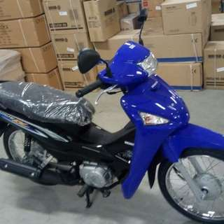 honda wave 110 blue