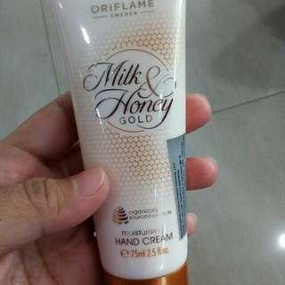 Hand Cream milk & honey