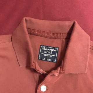 Abercrombie & fitch polo t-shirt (new)