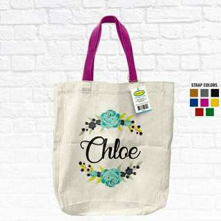 Tote bag w/ Customized design