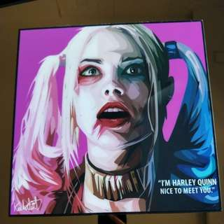 Pop Art Harley Quinn