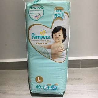 Pampers Premium Care Tape Diapers L40 9-14kg