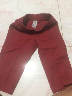 Maroon carter's pants