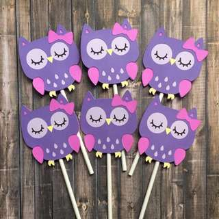 🦉Made to Order Owl Party Decor and Favors 🦉