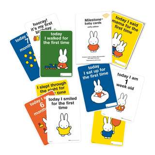 Milestone Miffy Baby Cards