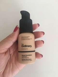 The Ordinary Serum Foundation in shade 2.0N Light Medium Neutral