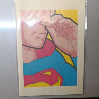Superman Nose Picking Notebook