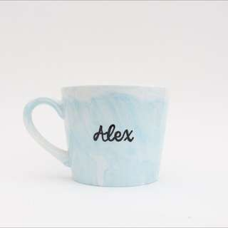 Personalisable marble mug GIFT IDEA