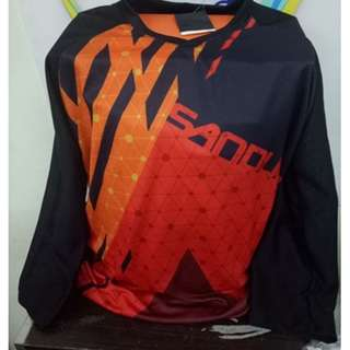 Sandugo Session Cycling Shirt Red-Int:S