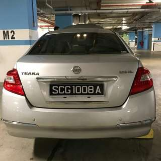 Car plate no. SCG 1008 A