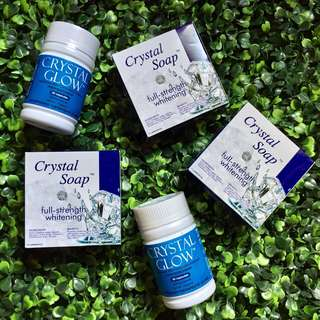 Crystal Glow Glutathione and Soap City/Municipal Distributor's Package