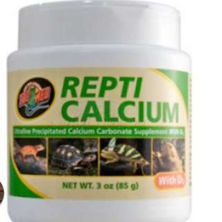 Gecko calcium powder