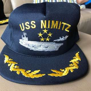 Vintage USS Nimitz cap