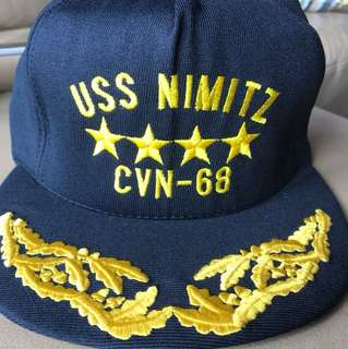Vintage USS Nimitz collectable cap