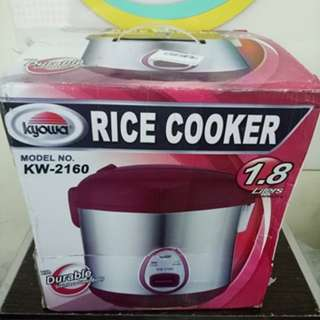 Kyowa KW-2160 Jar Type Rice Cooker with Steamer 1.8L